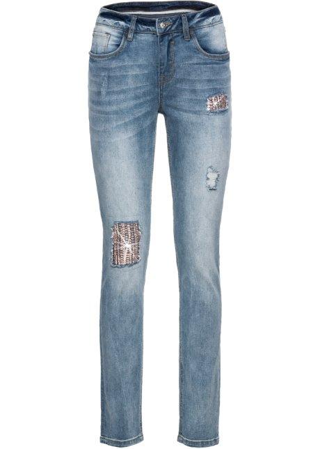 Bonprix SE - Jeans med paljettapplikation 349.00